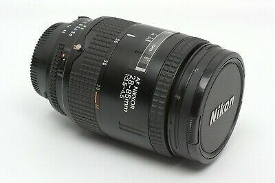 Nikon NIKKOR 28-85mm f/3.5-4.5 AF Zoom Lens in Very Good Condition