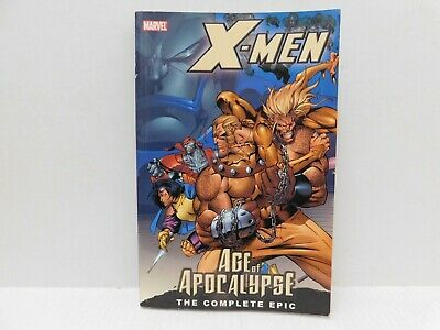 MARVEL X-MEN Age of Apocalypse The Complete Epic Book One 2005 PB Graphic Novel