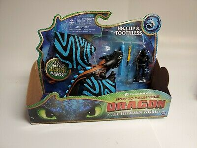 How to train your Dragon The Hidden World Hiccup & Toothless Alpha Blue Marks