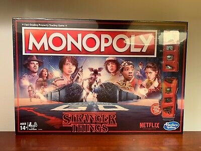 Hasbro Monopoly Stranger Things Edition Board Game