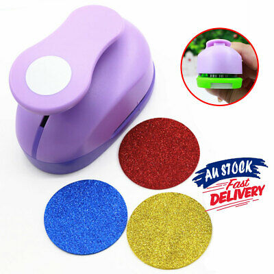 "Cardmaking punches paper punch wedding scrapbooking craft Circle AU 1""2.5cm"