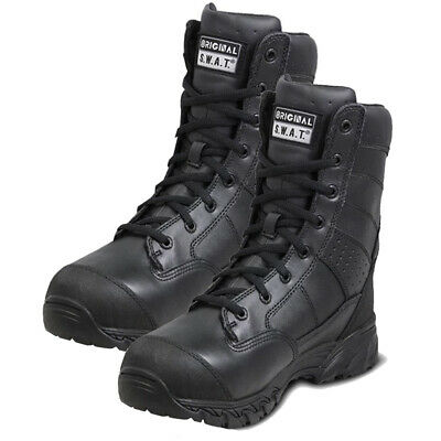Men/'s H.A.W.K Bla Original S.W.A.T 9 Inch Side Zip Military and Tactical Boot