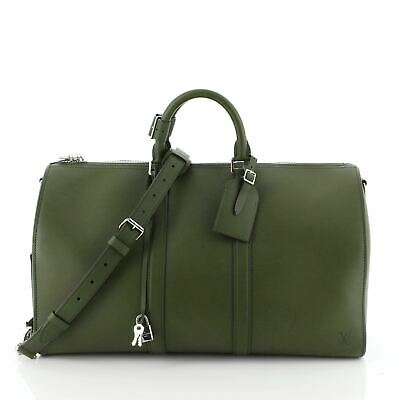 Louis Vuitton Keepall Bandouliere Bag Nomade Leather 45