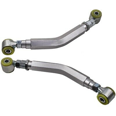 Gray Rear Upper Adjustable Camber Control Arms for Dodge Charger 2006 - 2018