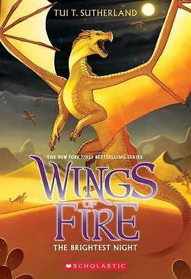 Wings of Fire Book Five: The Brightest Night by Sutherland, Tui T.