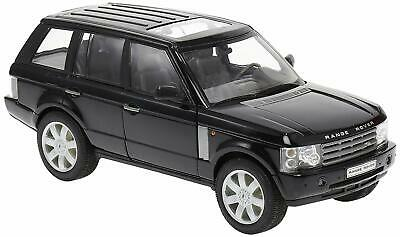 Welly - Land Rover RANGE ROVER (Black 2003) Die Cast Model - Scale 1:24