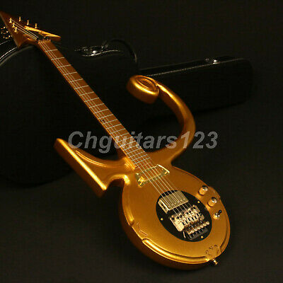 Gold Top Customized Prince Electric Guitar FR Bridge With Arm Gold Hardware