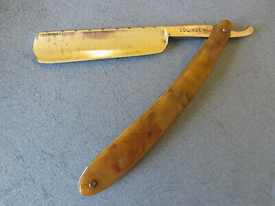 OLD STRAIGHT RAZOR - COUPE CHOUX Solingen - Lame 5/8 guillochée  - SHAVE READY