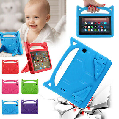 Kids Safe Handle Cover Stand Case EVA For Amazon Kindle Fire HD 10 7th Gen 2017