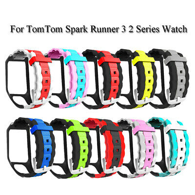 silicone bracelet Bande respirante For TomTom Spark Runner 3 2 Series Watch