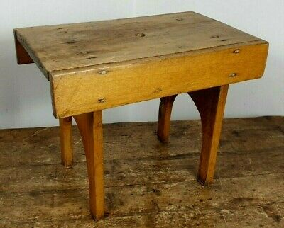 Stool Orkney Creepie Milking Seat Antique Chair Pine Design Made On Scotland