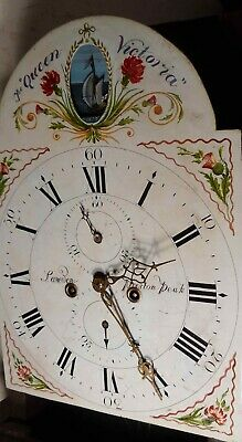 Antique  Automation  Rocking Ship Eight Day Longcase / Grandfather Clock