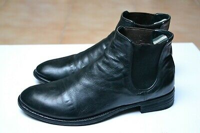 Scarpe OFFICINE CREATIVE N.38,5 UK5,5 Made in ITALY HANDMADE Black Leather