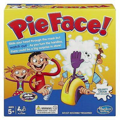 Hasbro Pie Face Game Fun Filled Childrens & Family Board Game 2 Players