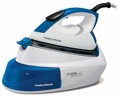 Morphy Richards 333007 Compact Steam Generator Iron Power Steam Blue & White