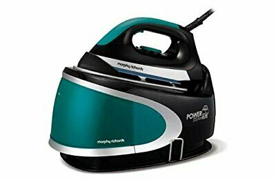Morphy Richards 330016 Pressurised Steam Generator Iron 2400 Watts Aqua & Black