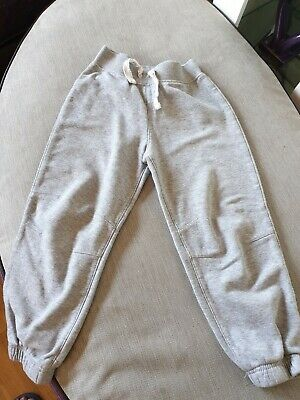 Great Condition Girls Grey Jogging Bottoms Age 4-5 Years