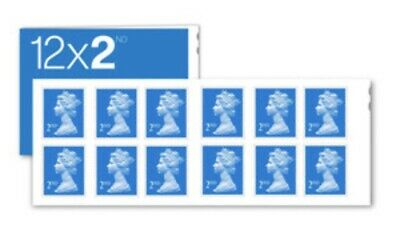 12 x 2nd Class STAMPS Royal Mail Post Office