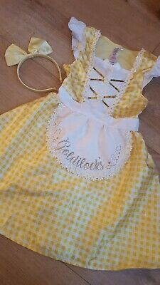 George Girls Goldilocks Fancy Dress Dressing Up Outfit Age 7-8 Years