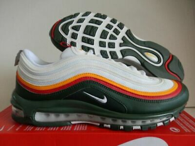 NIKE AIR MAX 97 Ratatouille 8 Evergreen CK0244 100 off white