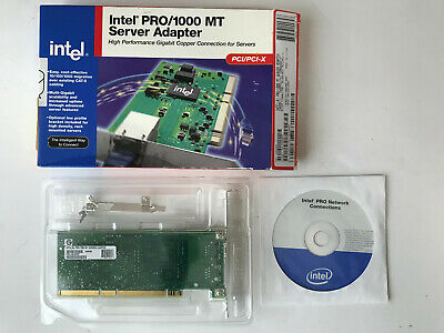 Intel Pro/1000 Mt Port Gigabit Server Ethernet Adapter Pci/Pci-X