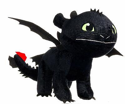"""Brand New How To Train Your Dragon Toothless 10"""" Soft Toy! Brand New Design!"""
