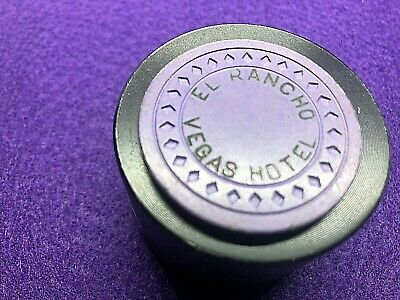 """ULTRA RARE $5 EL RANCHO LV PURPLE CHIP 1st iss RATED """"O"""" 1941 HS"""
