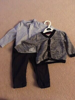 marks and spencer baby boy 3 Part Outfit