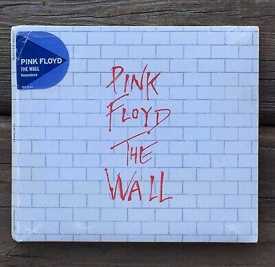 Brand New & Sealed PINK FLOYD - THE WALL ((2011, Remastered, 2-Disc CD Digipak))