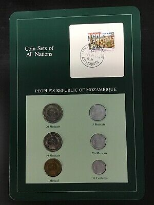 COIN SETS OF ALL NATIONS Complete PEOPLE'S REPUBLIC OF MOZAMBIQUE
