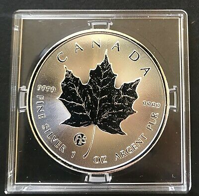 CANADA 2016 MAPLE LEAF Fabulous Collection F15 Privy Mark 1 Oz 999.9 Silver Coin