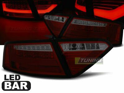 LTI LED Baklykter for AUDI A5 07-11 COUPE Red Smoke LDAUE3ET XINO CH