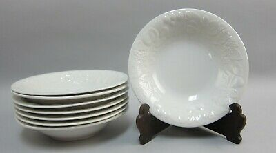 Lot of 8 Gibson China FRUIT Soup Bowls EX