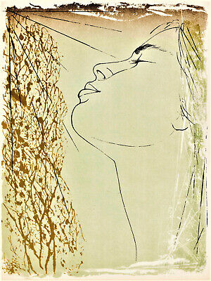 Pierre Yves Tremois, Original Lithograph, 1963, Woman, The Art of Love