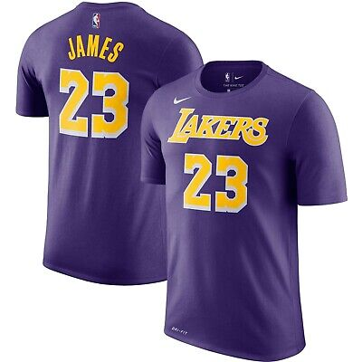 LeBron James Los Angeles Lakers Nike Player Name & Number Men's T-Shirt 2XL
