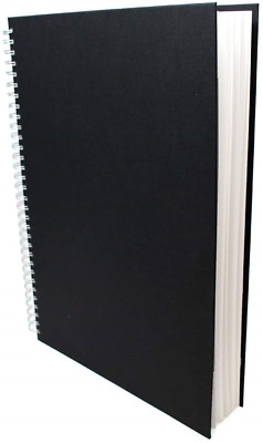 ArtWay Studio - Spiral Bound A3 Sketch book - Portrait - 96 Pages 48 Leaves of -