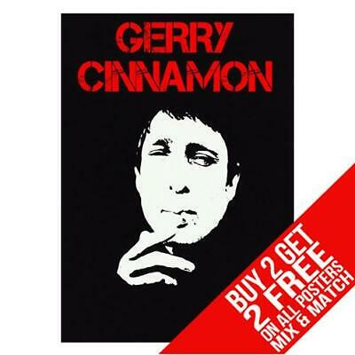 Gerry Cinnamon Bb1 Poster Art Print A4 A3 Size - Buy 2 Get Any 2 Free
