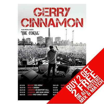 Gerry Cinnamon Bb3 Poster Art Print A4 A3 Size - Buy 2 Get Any 2 Free