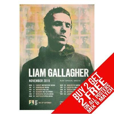 Liam Gallagher Bb4 Poster Art Print A4 A3 Size - Buy 2 Get Any 2 Free