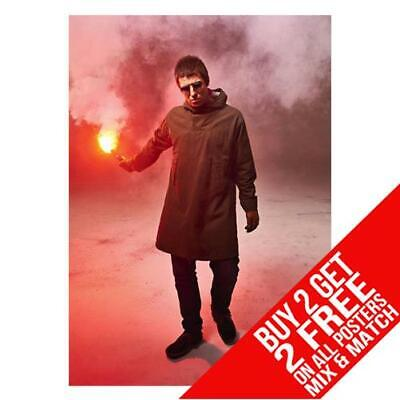 Liam Gallagher Oasis Bb3 Poster Art Print A4 A3 Size - Buy 2 Get Any 2 Free