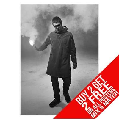 Liam Gallagher Oasis Bb4 Poster Art Print A4 A3 Size - Buy 2 Get Any 2 Free