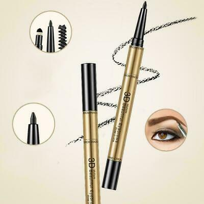 Three-in-one eyebrow pencil, eyebrow makeup, waterproof, not blooming H8Z8 F9F1