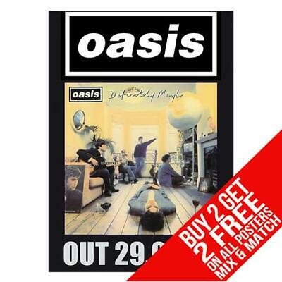 Oasis Dd8 Poster Art Print A4 A3 Size - Buy 2 Get Any 2 Free