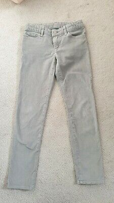 Girls 8-9 years sparkly skinny grey jeans from GAP