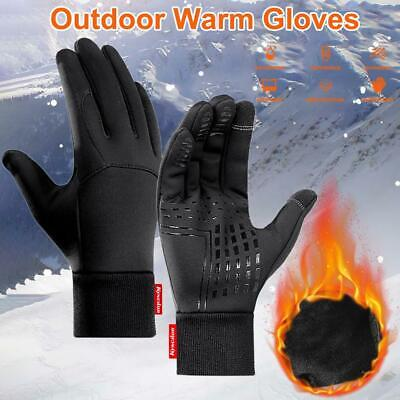 Winter Gloves for Men Women Keep Warm Touch Screen Windproof Cold Weather Gloves