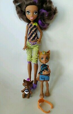 CLAWDEEN WOLF Family Barker Weredith Monster High Doll Excellent Used condition