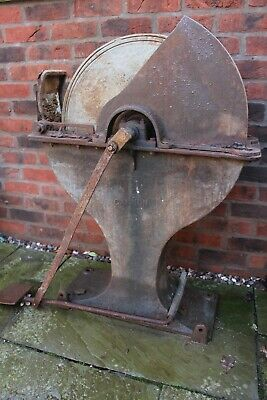 Foot Operated Cast Iron Grinding Wheel (sharp)