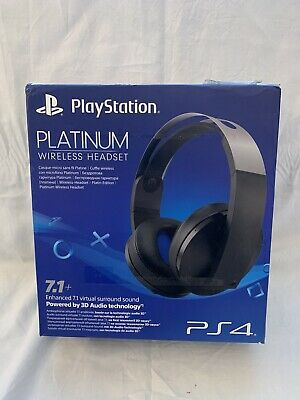 SONY PLAYSTATION PLATINUM WIRELESS HEADSET 7.1 Cuffie Gaming PS4