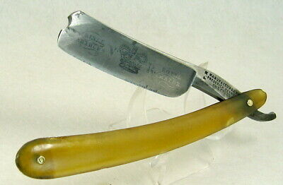 "Antique Frederick Reynolds 7/8"" Straight Razor Etched ""Prince Arthur's Royal"""