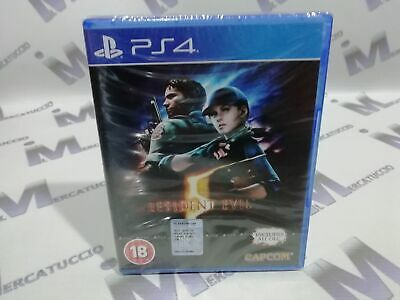 Gioco Playstation 4 Ps4 Resident Evil 5 Uk Nuovo